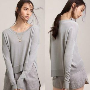 Aritzia Wilfred Librement Sweater Grey Size XS